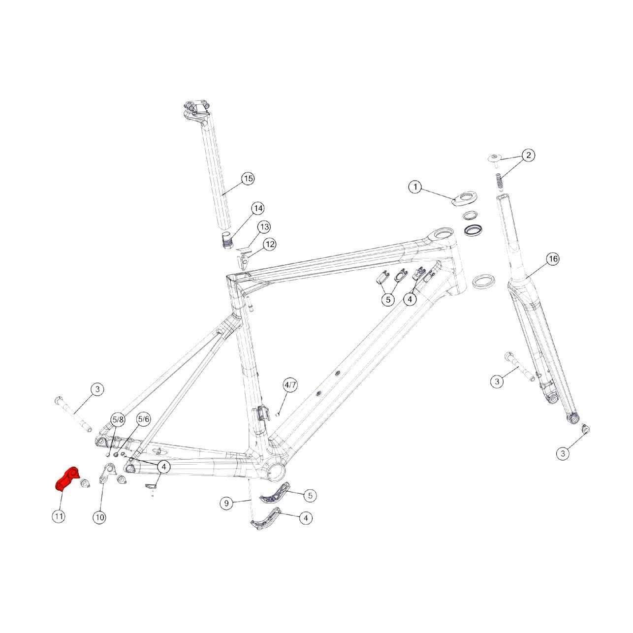 BMC Derailleur Hanger #59 - 301093