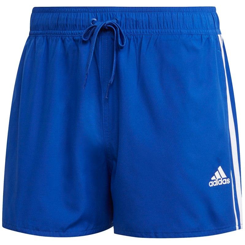 adidas Men's 3-Stripes CLX Swim Shorts VSL - team royal blue FJ3365