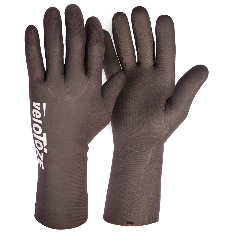 veloToze Waterproof Cycling Glove Handschuhe - black