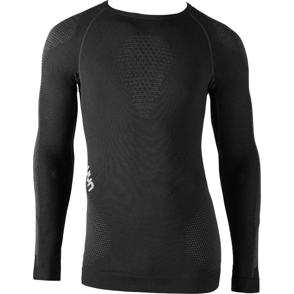 UYN Ambityon Underwear Langarmshirt - Blackboard/Black/White
