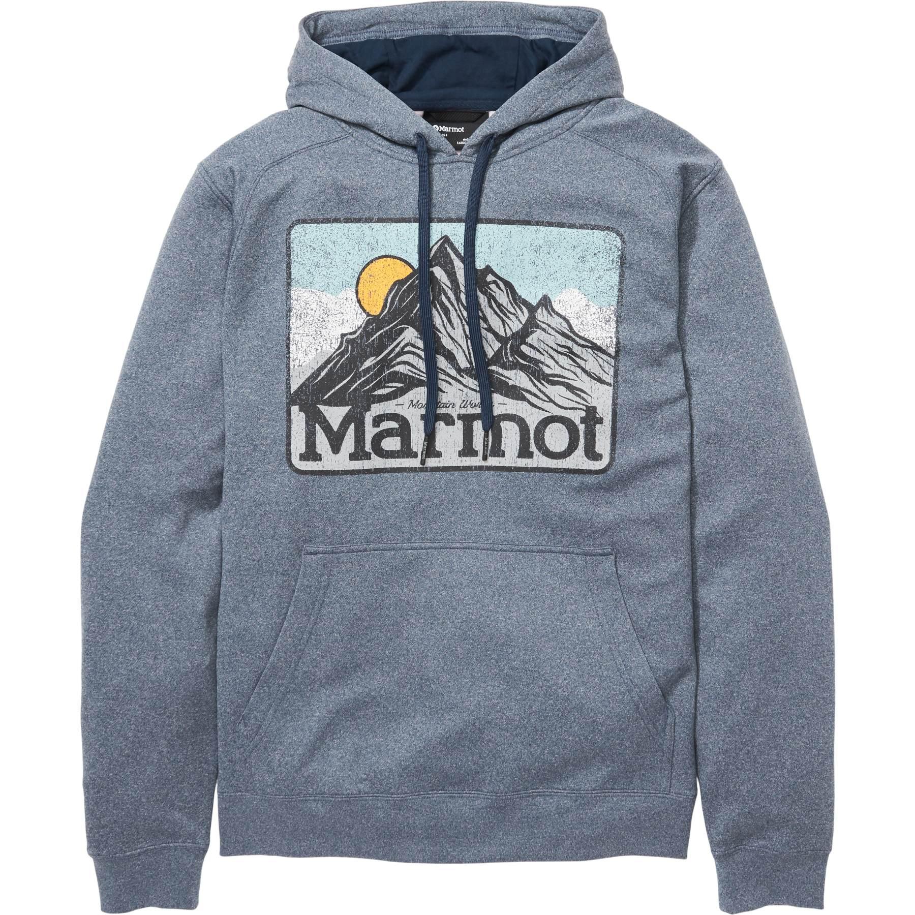 Marmot Mountain Peaks Hoody - Dark Indigo Heather
