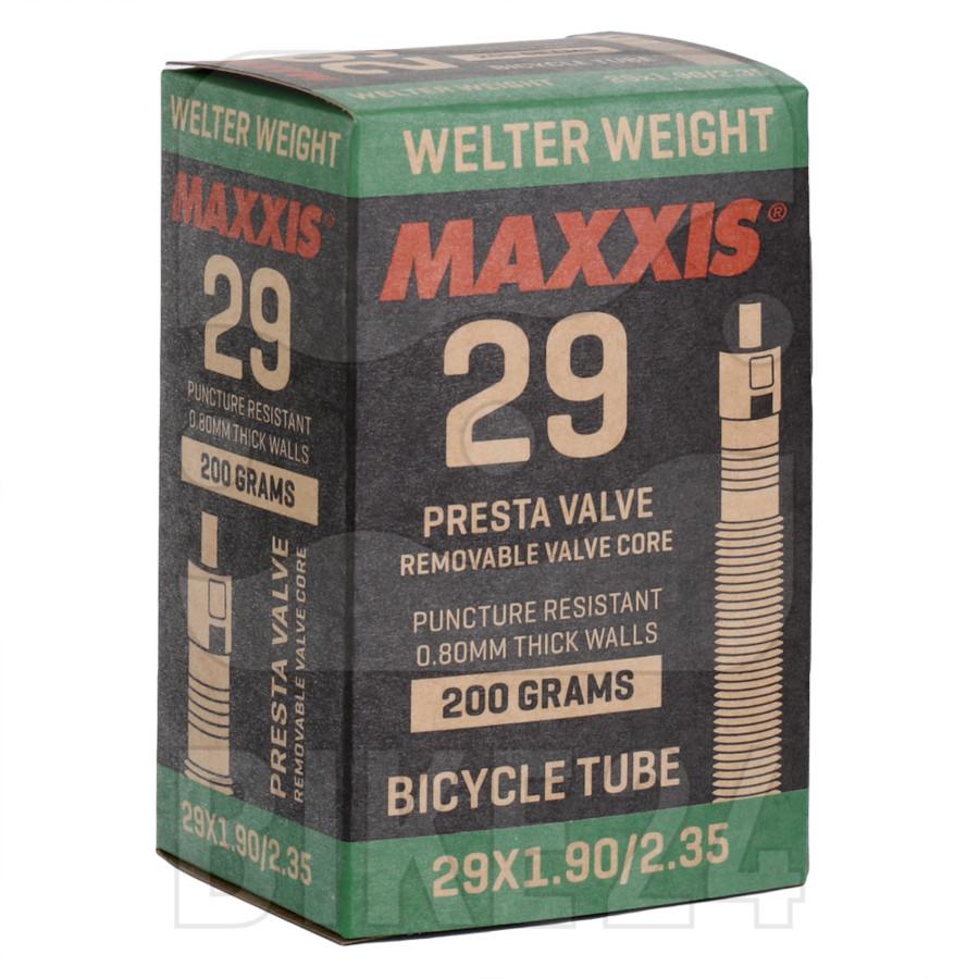"""Maxxis WelterWeight MTB Tube - 29x1.90/2.35"""" - Presta - 32mm"""