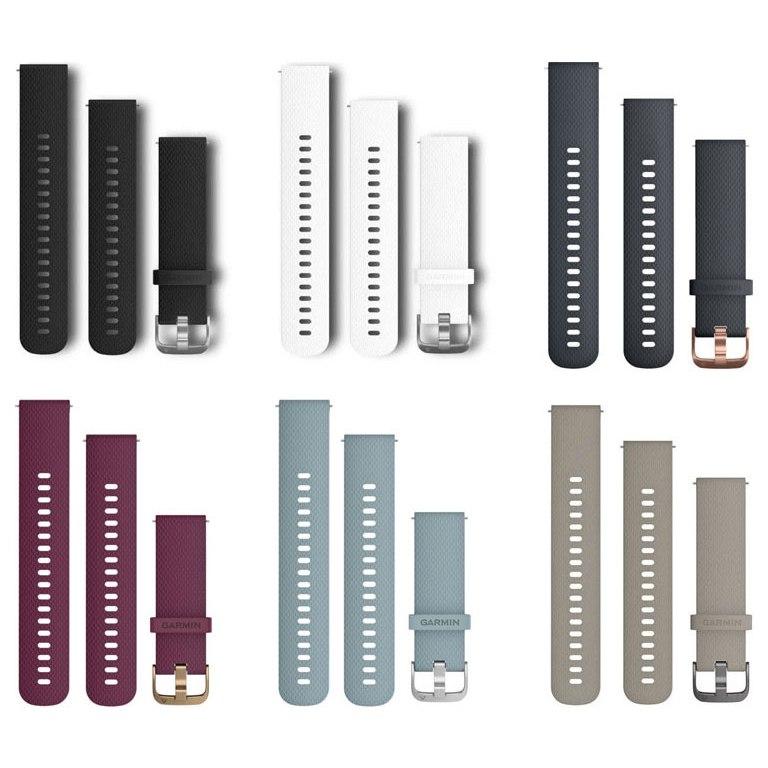 Garmin Schnellwechsel-Armband-Set 20mm - Silikon