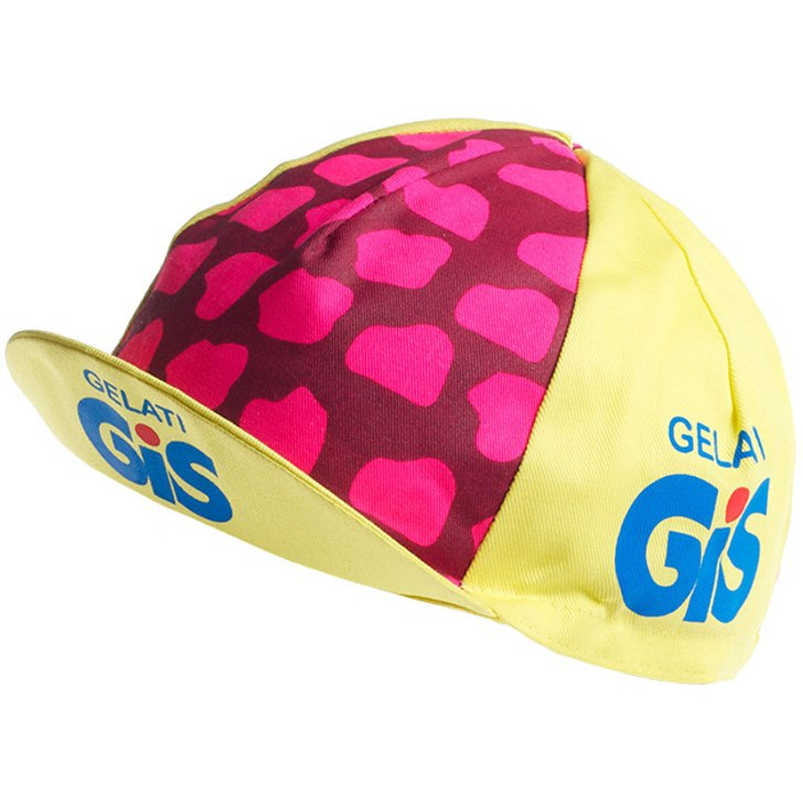 Image of Apis Retro Style Team Cycling Cap - GIS GELATI II