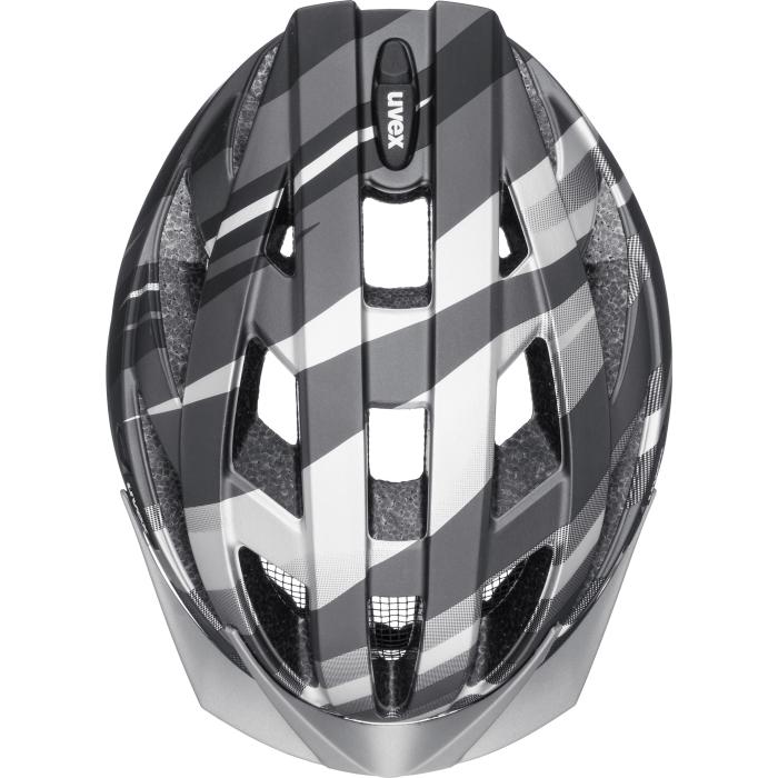 Bild von Uvex air wing cc Helm - black - silver mat