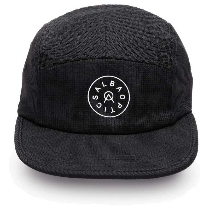 Image of ALBA 5 Panel Hat - Cap - black
