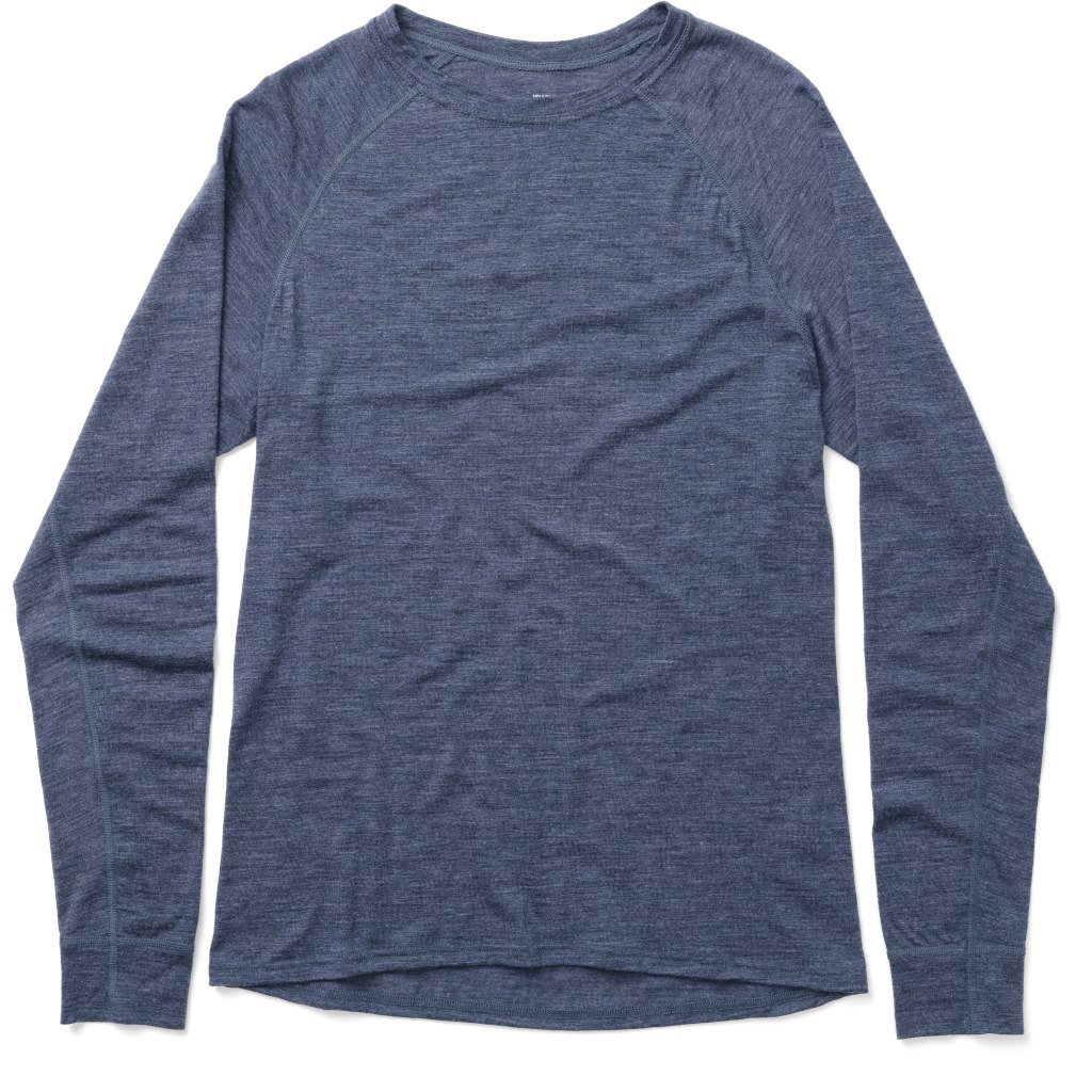 Houdini Men's Activist Crew Long-Sleeve Shirt - Bucket Blue