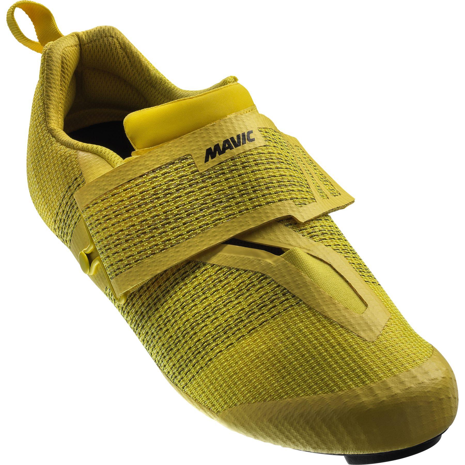 Produktbild von Mavic Ultimate Tri Triathlon Schuhe - yellow mavic/yellow mavic/black