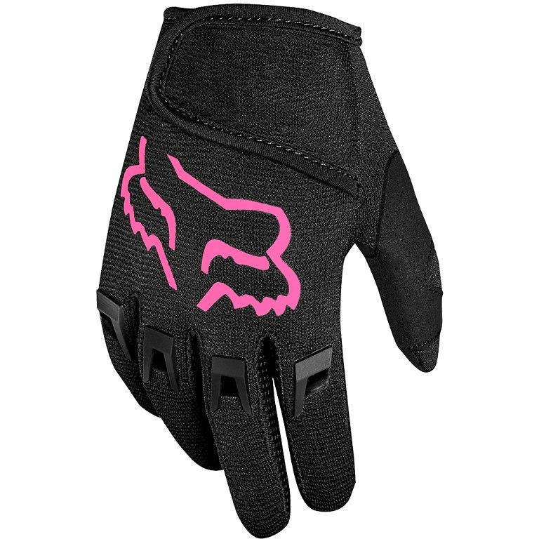 Foto de FOX Kids Dirtpaw Gloves MTB Kids - black/pink