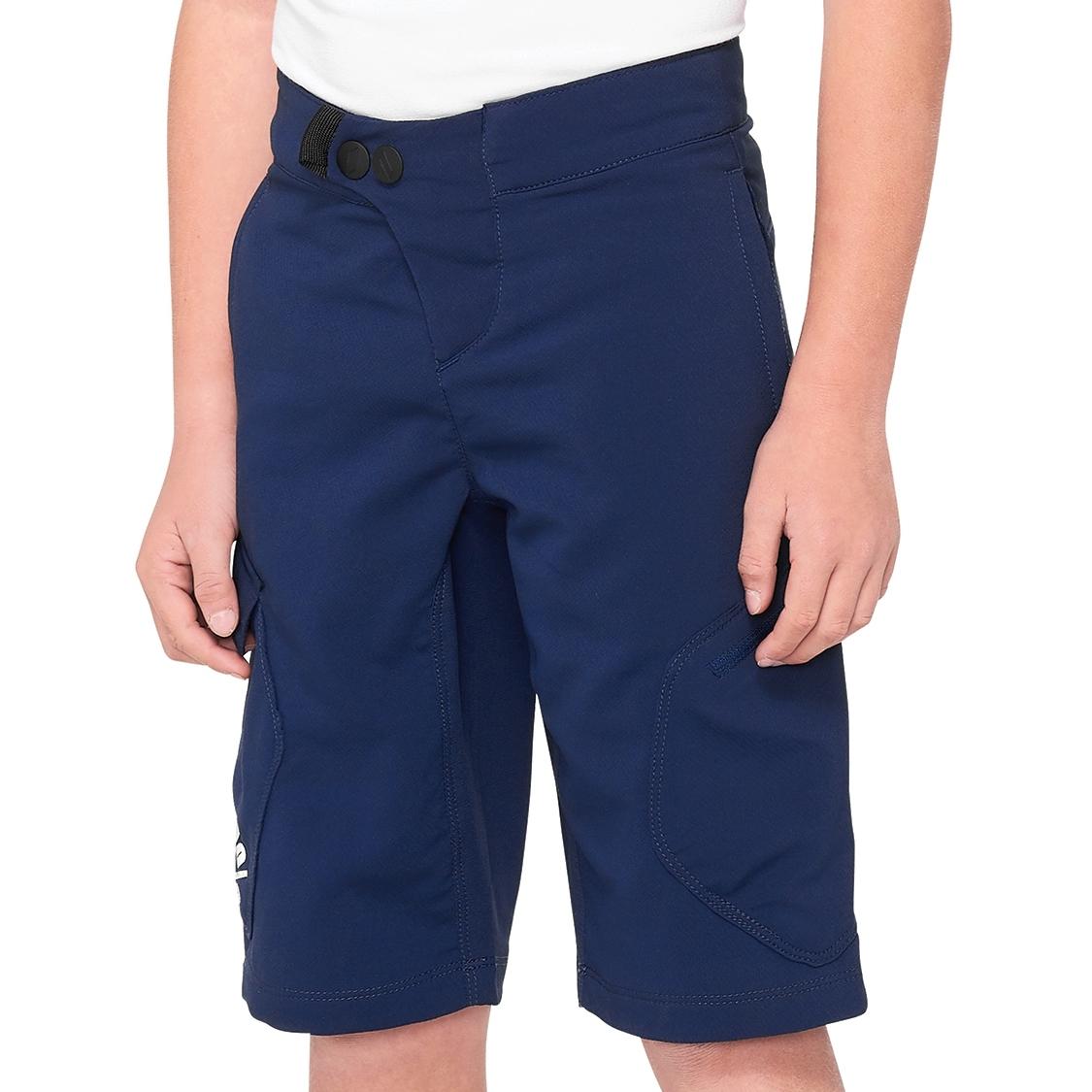 100% Ridecamp Youth Pantalones - navy