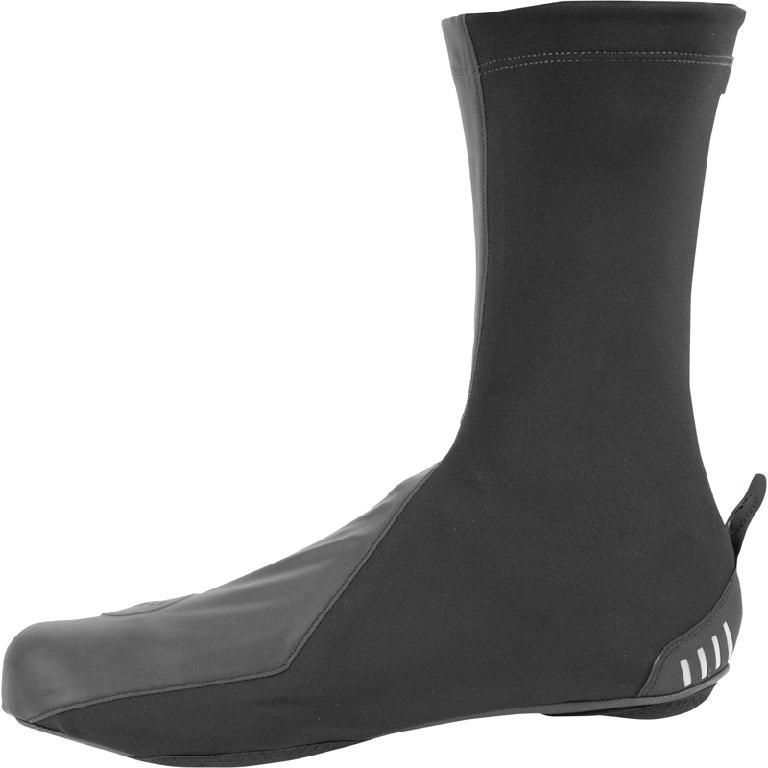 Image of Castelli Reflex Shoecover 19526 - black/black reflex 010