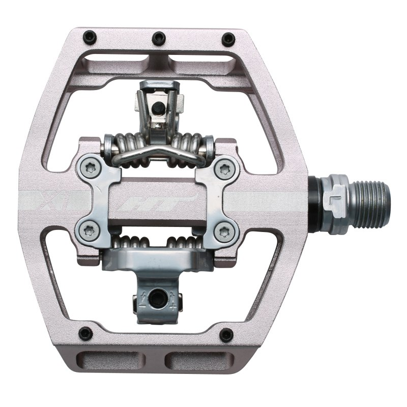 Produktbild von HT X1 Klickpedal Aluminium - grau