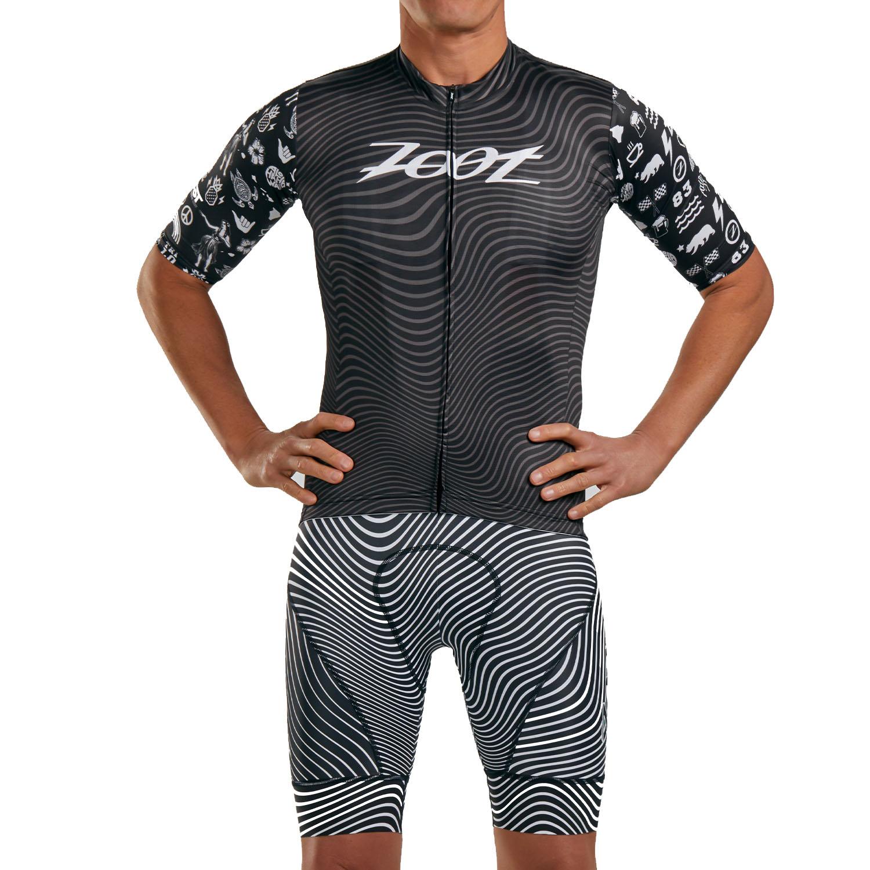 ZOOT LTD Cycle Aero Maillot de ciclismo de carretera para hombres - tri love