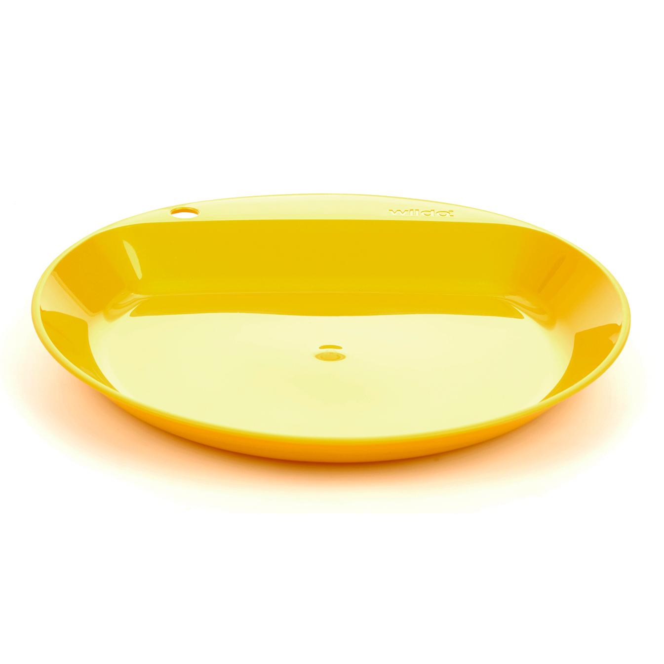 Wildo Flacher Teller - lemon