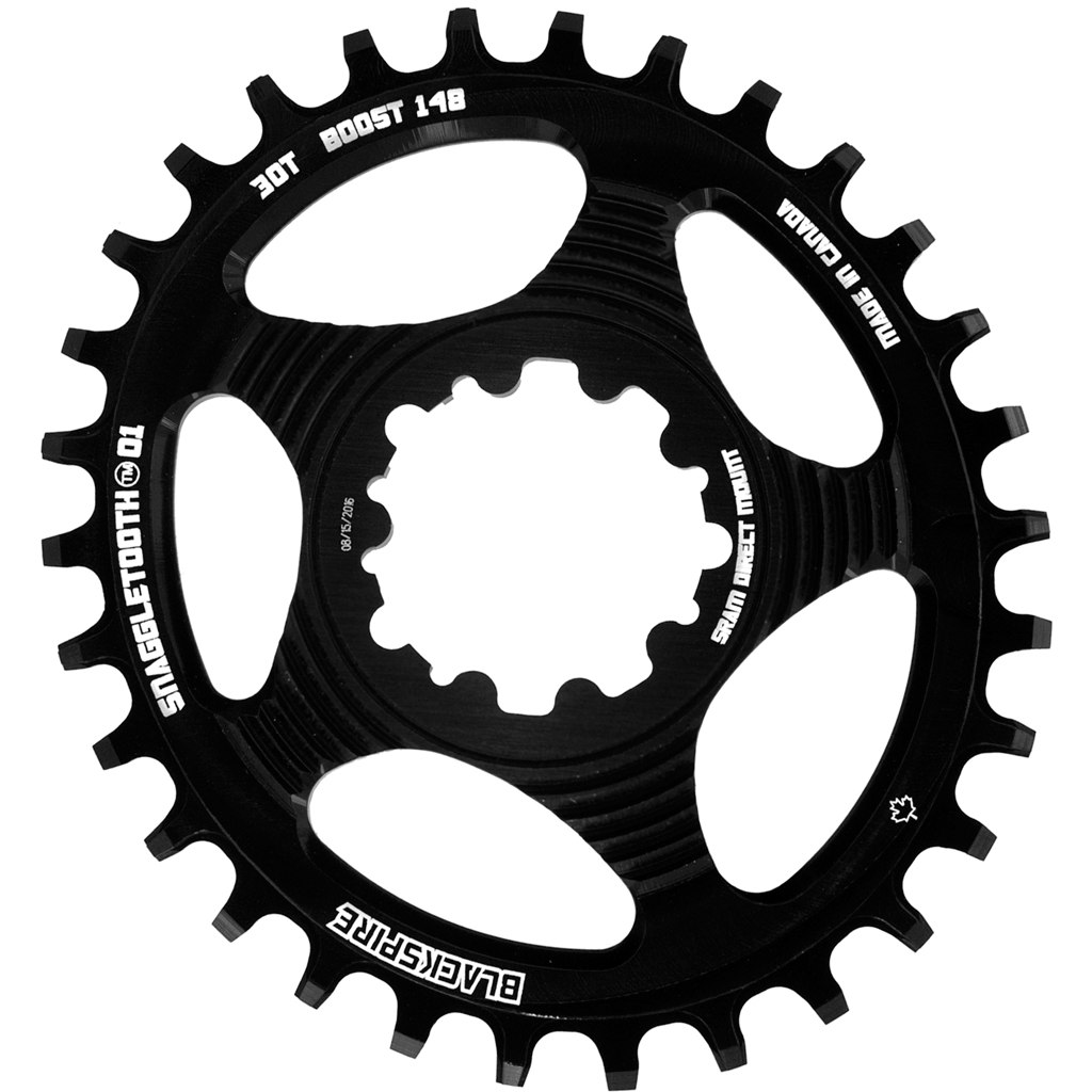 Blackspire Snaggletooth SRAM Oval Chainring Narrow-Wide Direct Mount 3mm Boost Offset