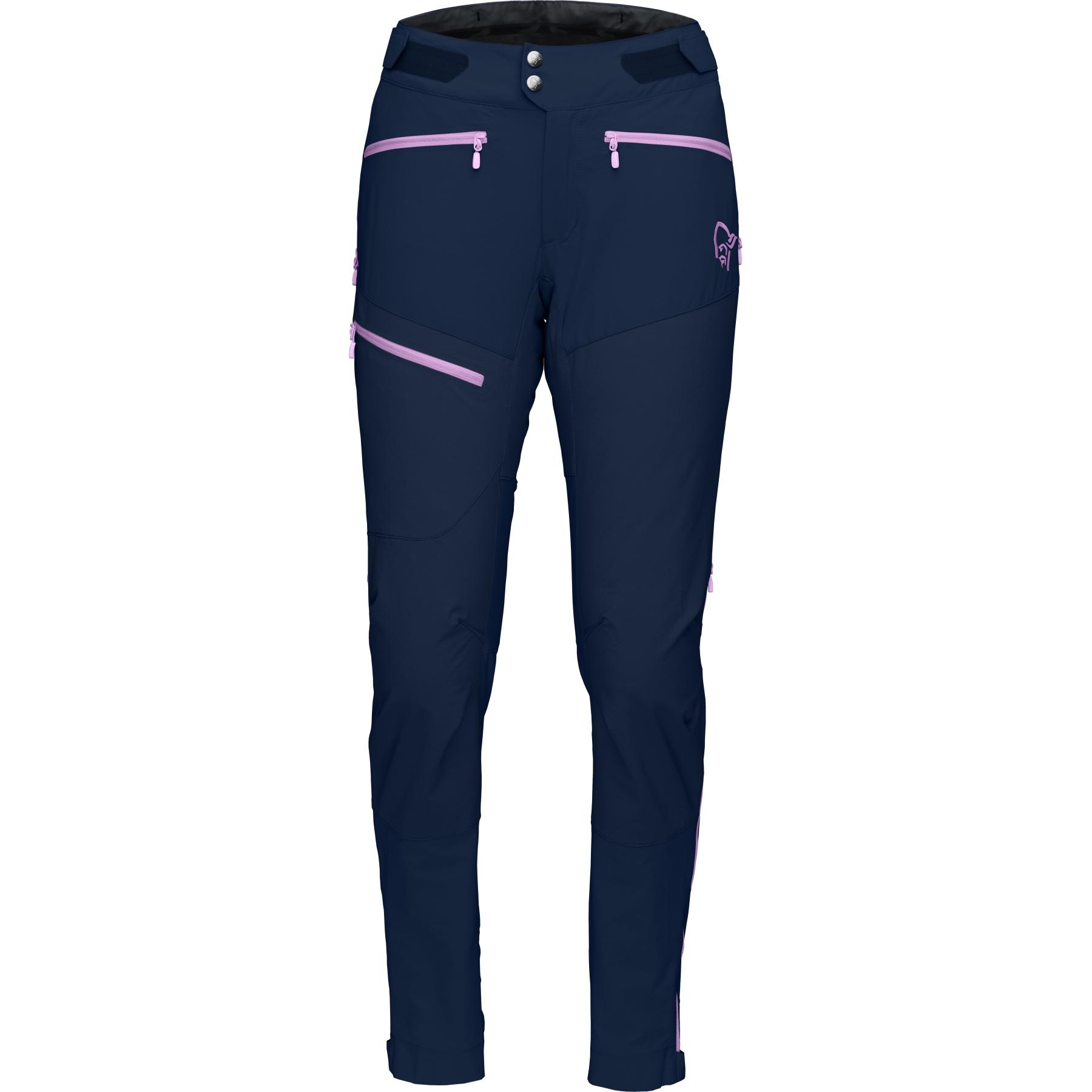 Produktbild von Norrona fjora flex1 Damenhose - Indigo Night/Violet Tulle