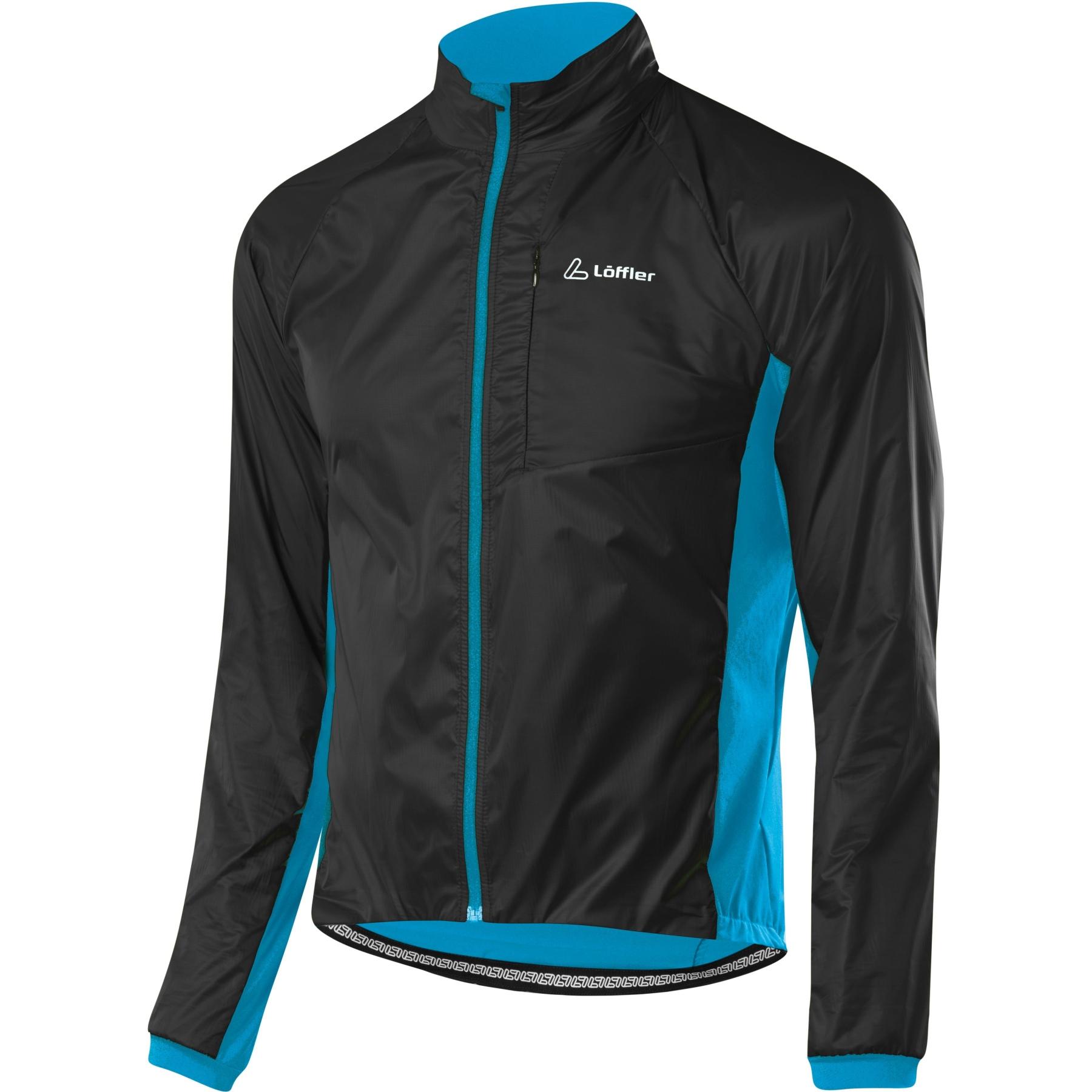 Löffler Bike Light Hybrid Jacke 24576 - black/blue lake 942