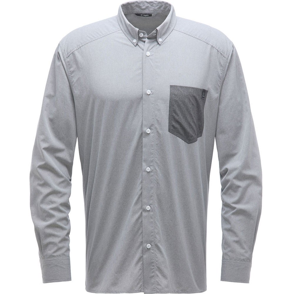 Haglöfs Vejan LS Shirt Men - concrete 2A5