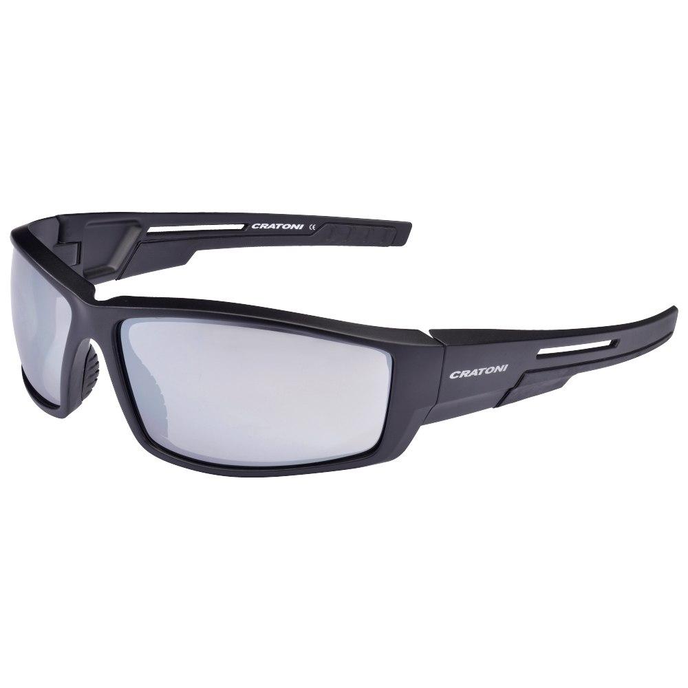 CRATONI Raw Glasses - Black Matt/Smoke Silver