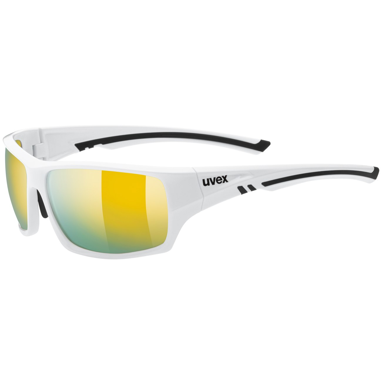 Uvex sportstyle 222 pola - white/litemirror yellow Glasses