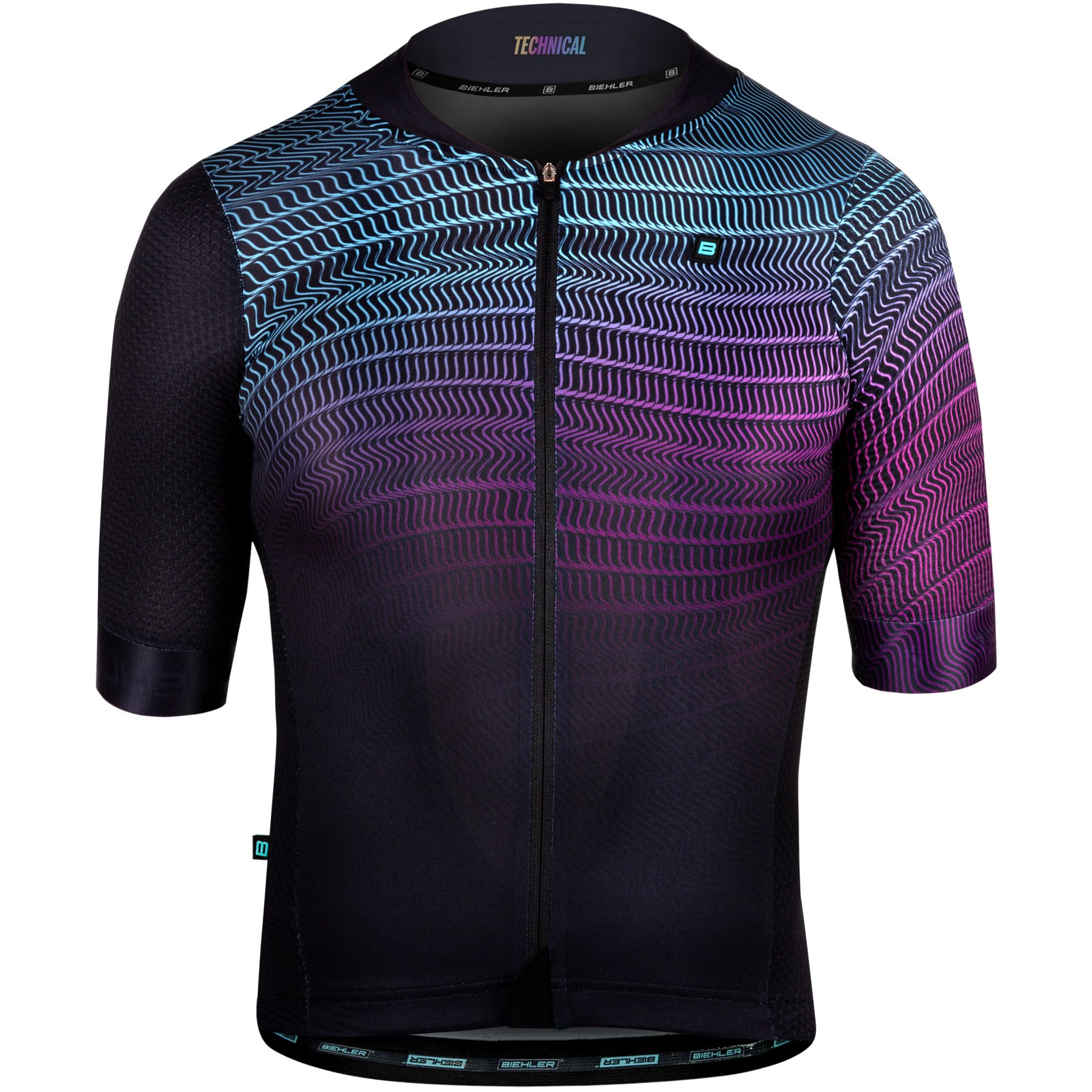 Biehler Technical Jersey - electric grid