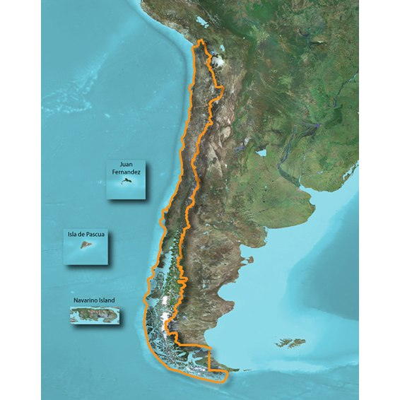 Image of Garmin TOPO Chile Deluxe - microSD/SD card - 010-11934-00