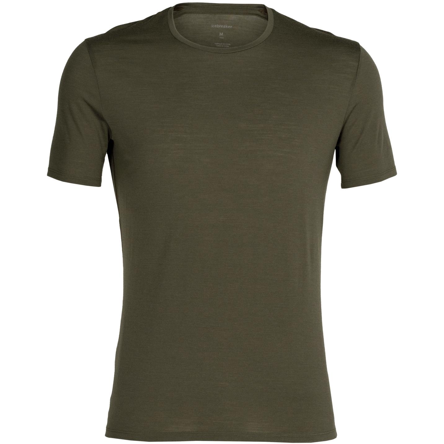 Produktbild von Icebreaker Anatomica Crewe Herren T-Shirt - Loden