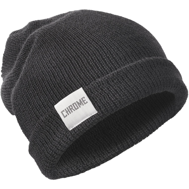 CHROME Wool Cuff Beanie - Black