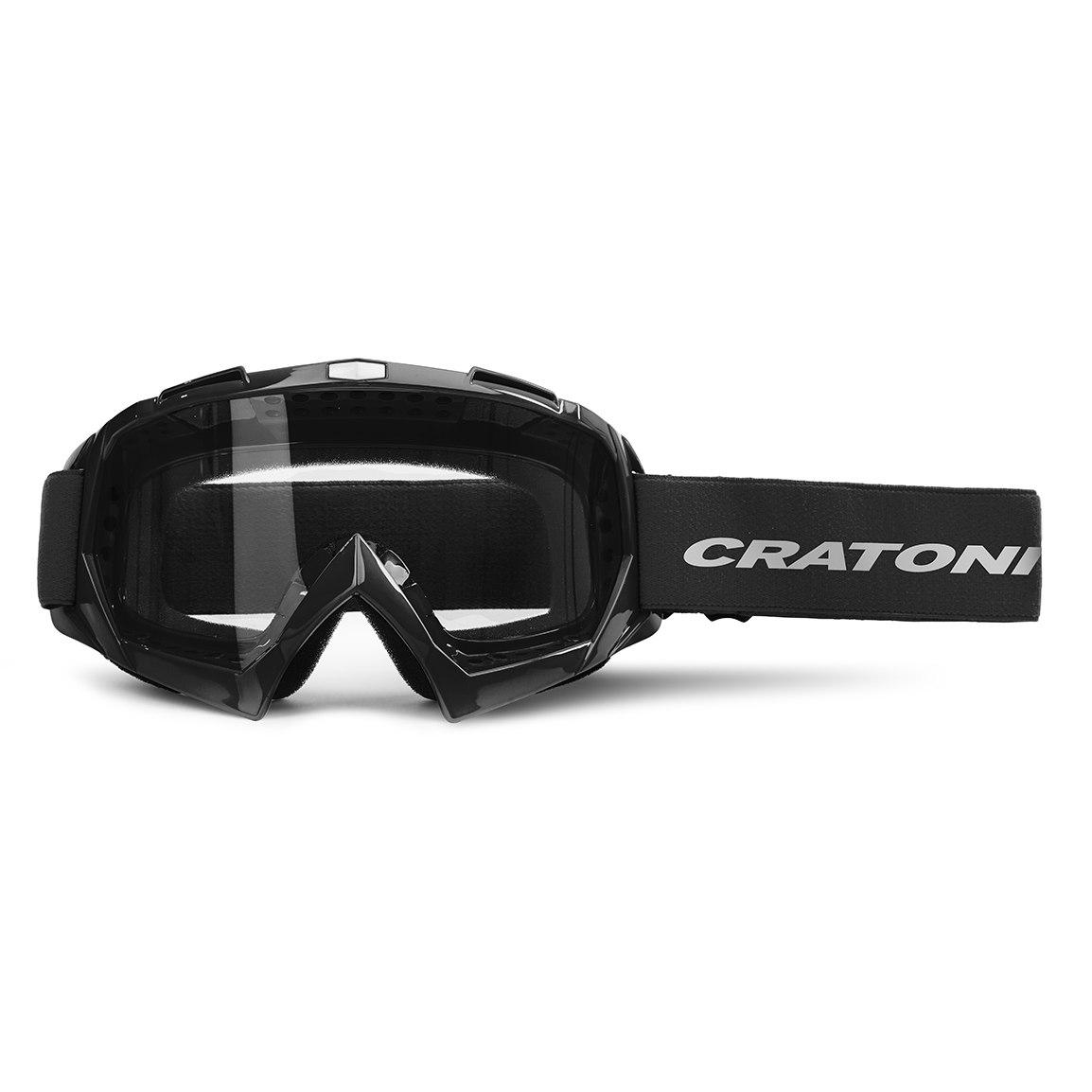 CRATONI C-Rage Goggle - black glossy / clear