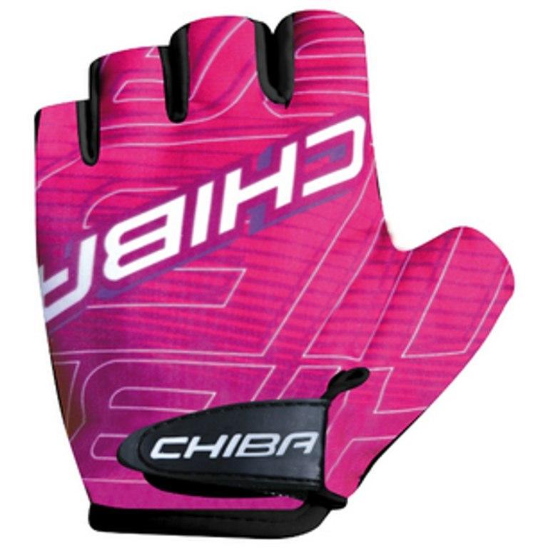 Image of Chiba Kids Bike Gloves - pink-magenta