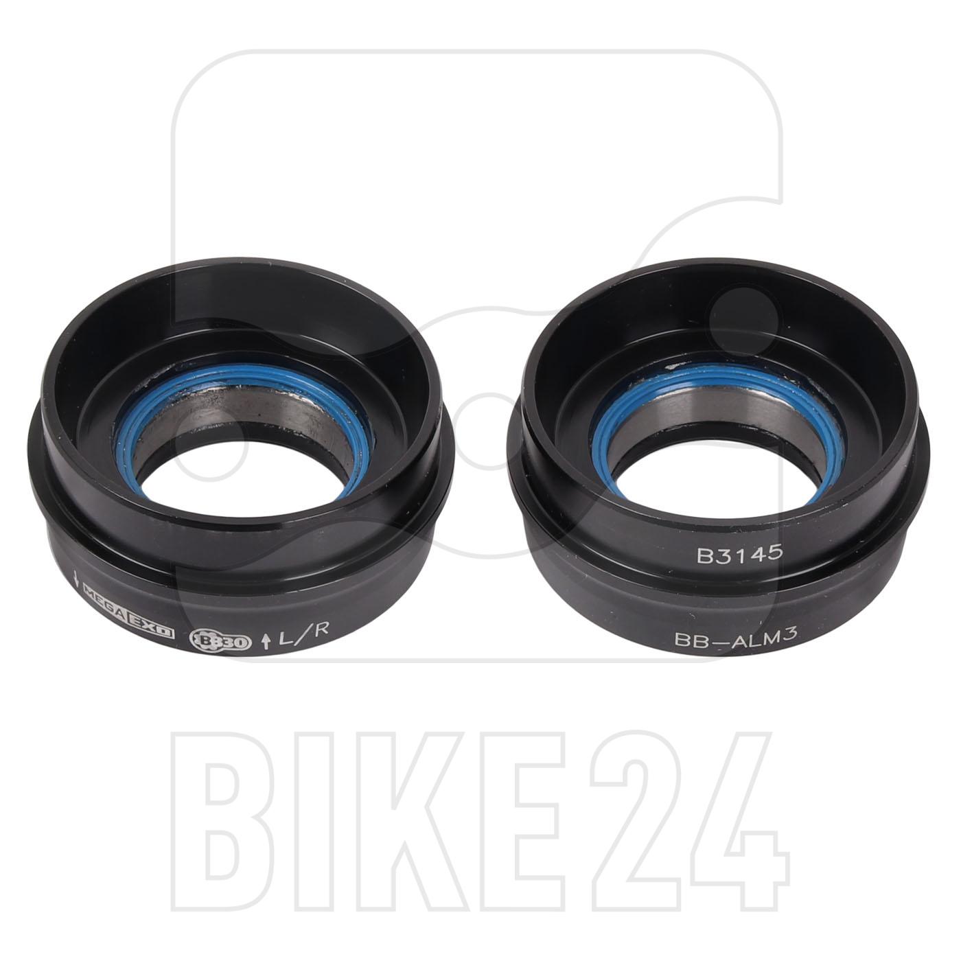 FSA Road M3 Bottom Bracket Adaptor for MegaExo Road Aluminium Crankset on BB30 Frames BB42-68-24