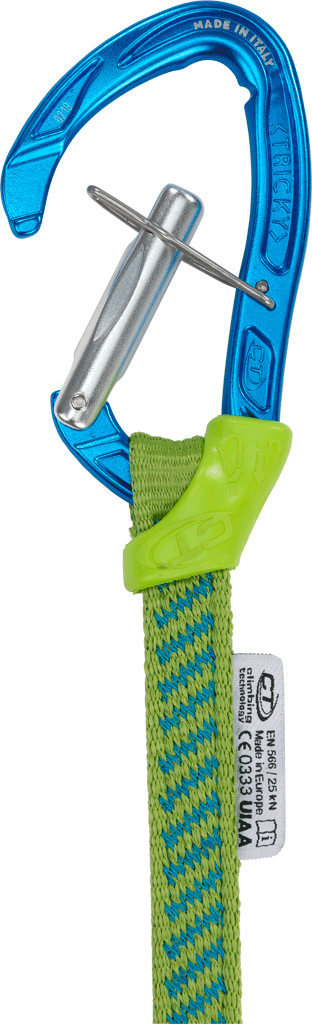 Image of Climbing Technology Nimble Tricky Carabiner + Sling