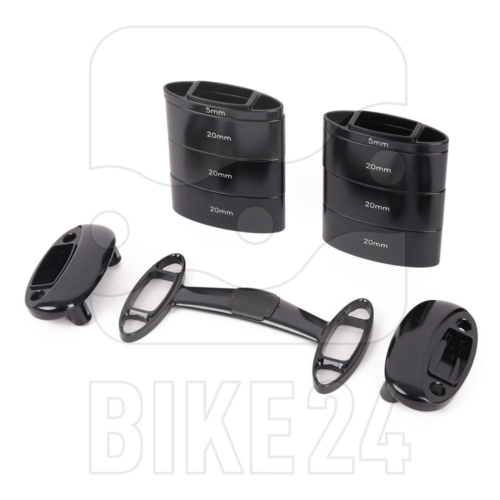 Vision Armauflagen-Spacer Kit inkl. Brücke für Trimax Carbon SI R-Bend V17 Zeitfahrlenker