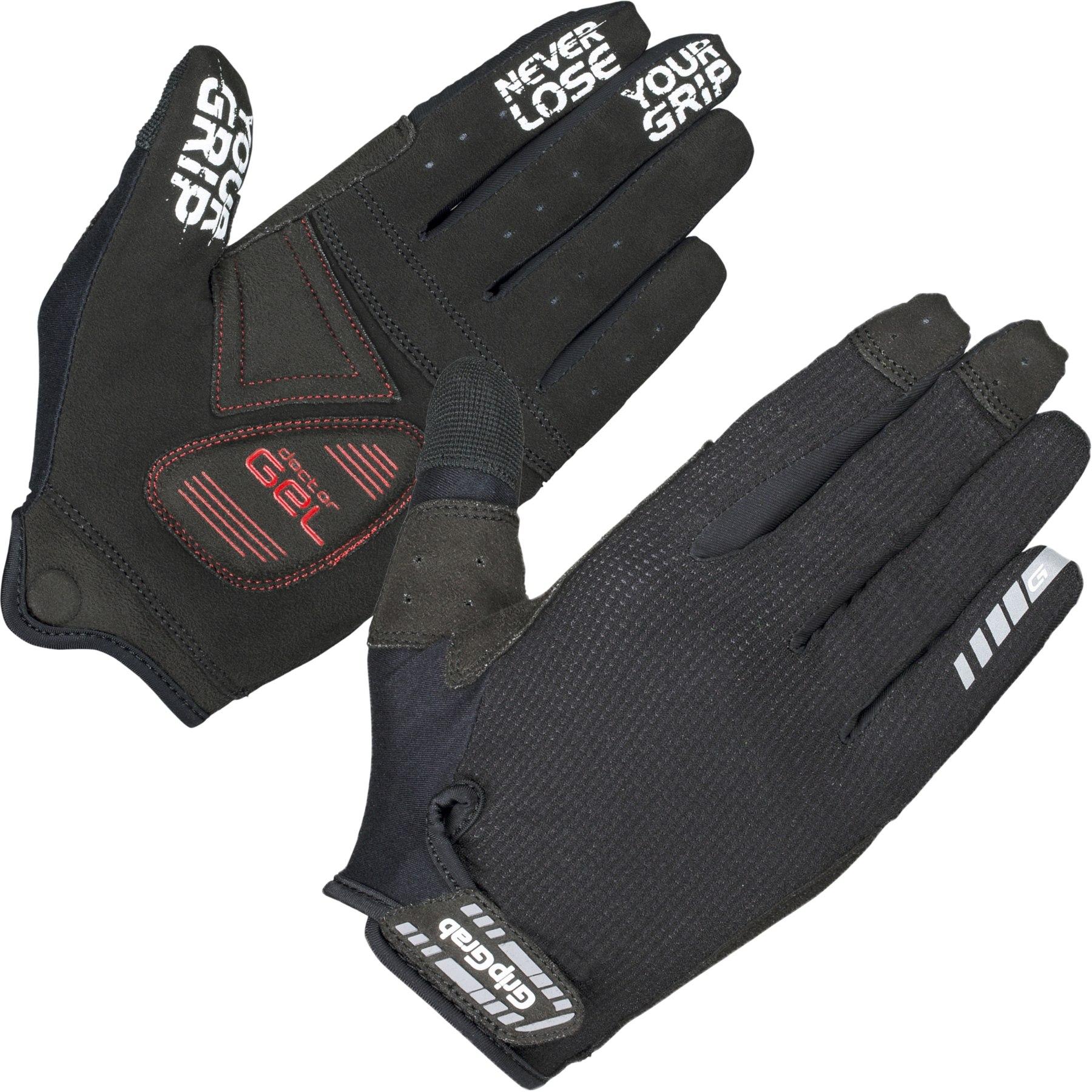 Image of GripGrab SuperGel XC Touchscreen Full Finger Glove - Black