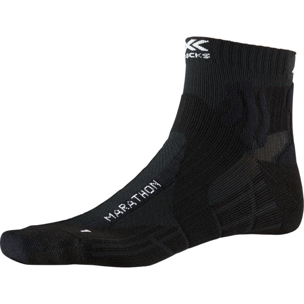X-Socks Marathon Laufsocken - opal black