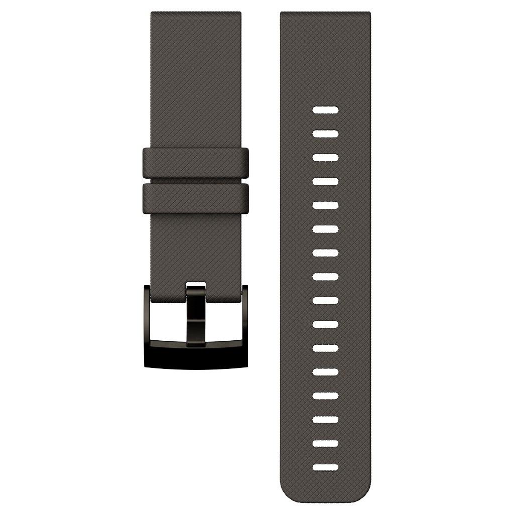 Suunto Traverse Graphite Silicone Strap - SS022227000