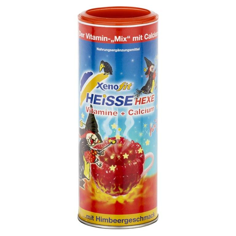 Xenofit Heisse Hexe - 5 Vitamine + Calcium Getränke-Granulat - 270g