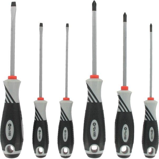 VAR Professional Screwdriver Set (6 pieces) - DV-71000