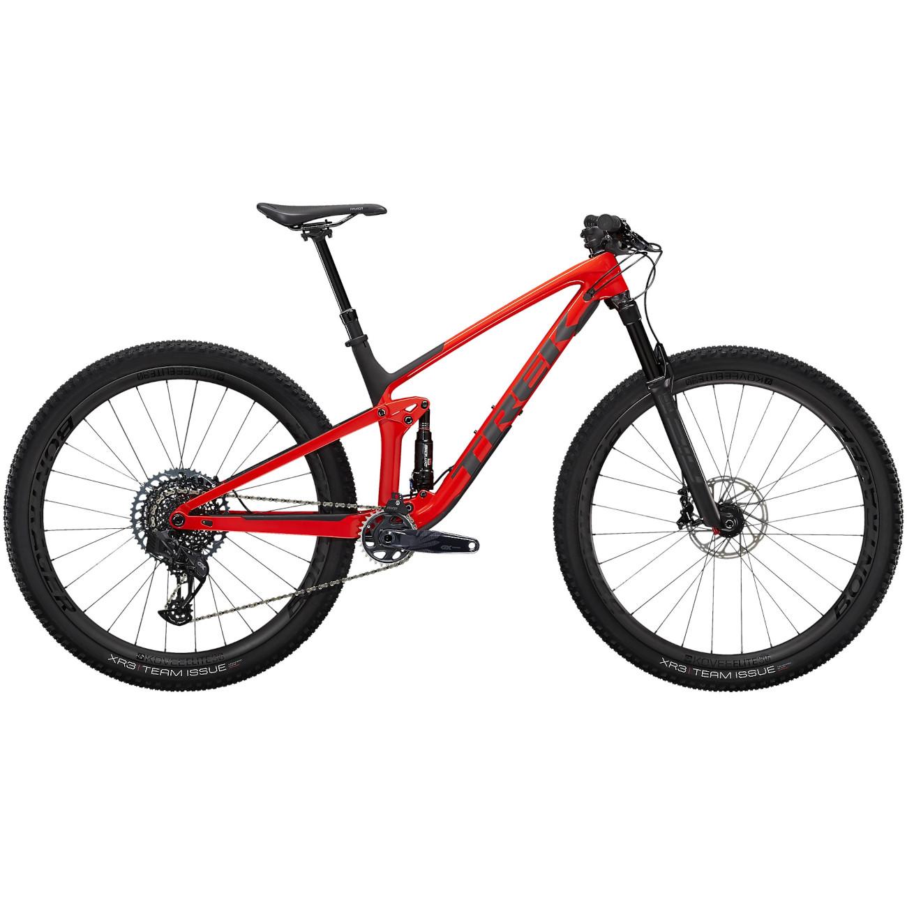 "Trek TOP FUEL 9.8 GX AXS 29"" Mountainbike - 2021 - Gloss Red / Matte Carbon Smoke"