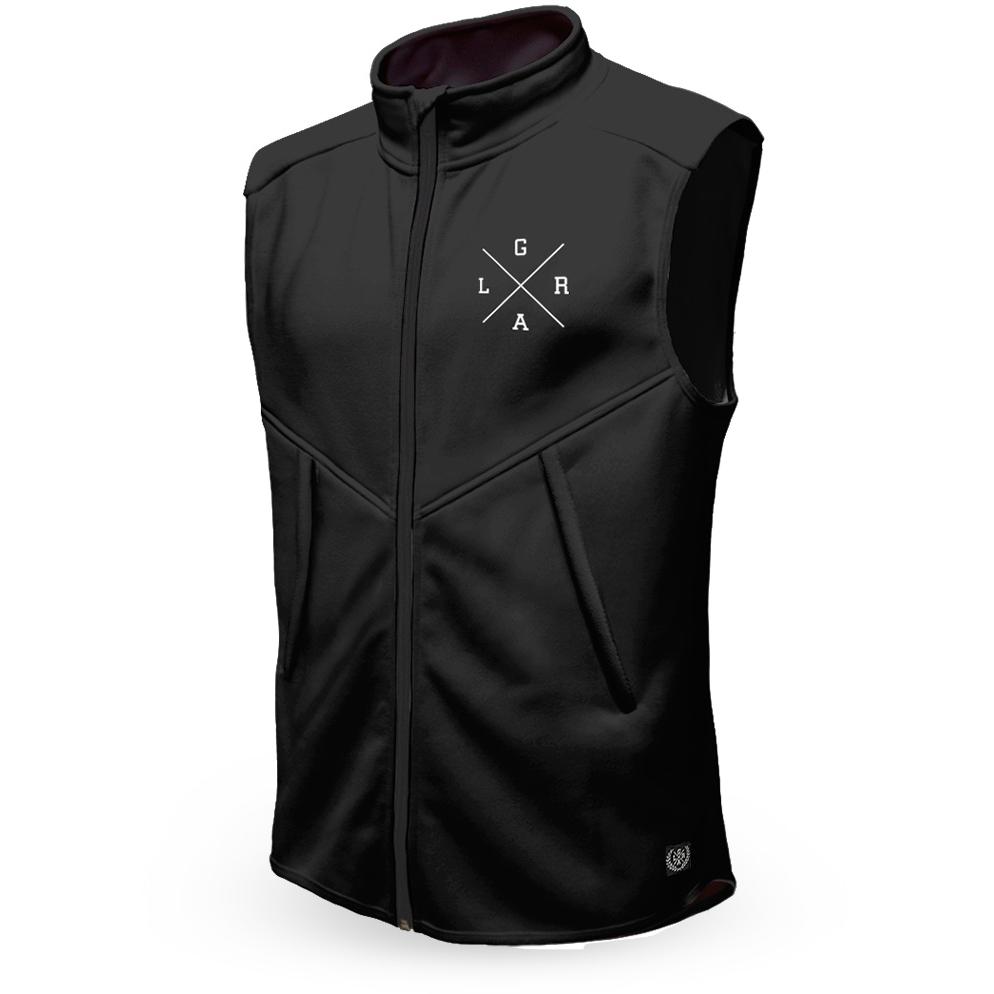 Image of Loose Riders Technical Fleece Vest - Black