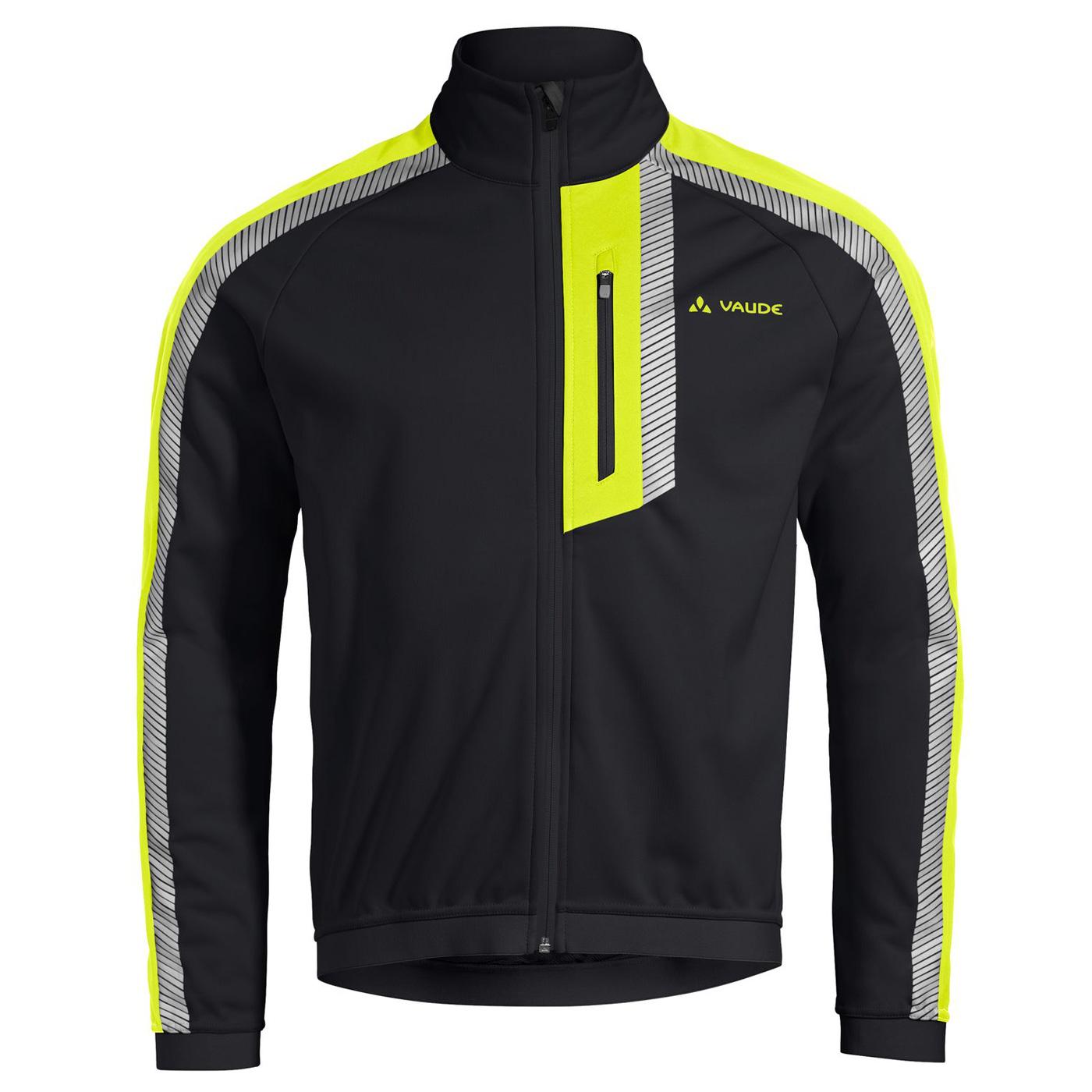 Vaude Men's Luminum Softshell Jacket II - black/yellow