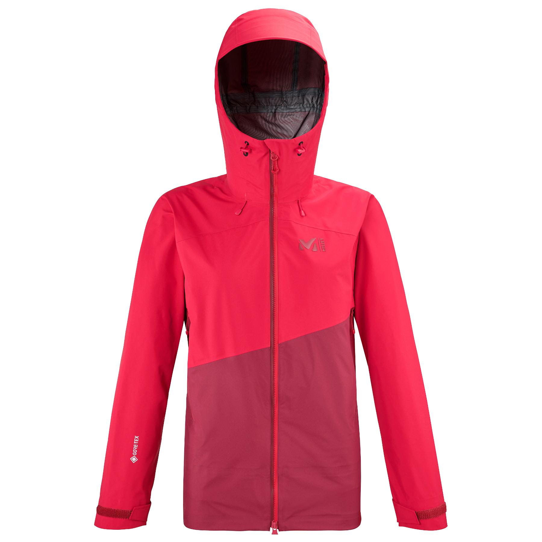 Millet Women's Elevation S GTX Jacket - Tibetan Red/Tango