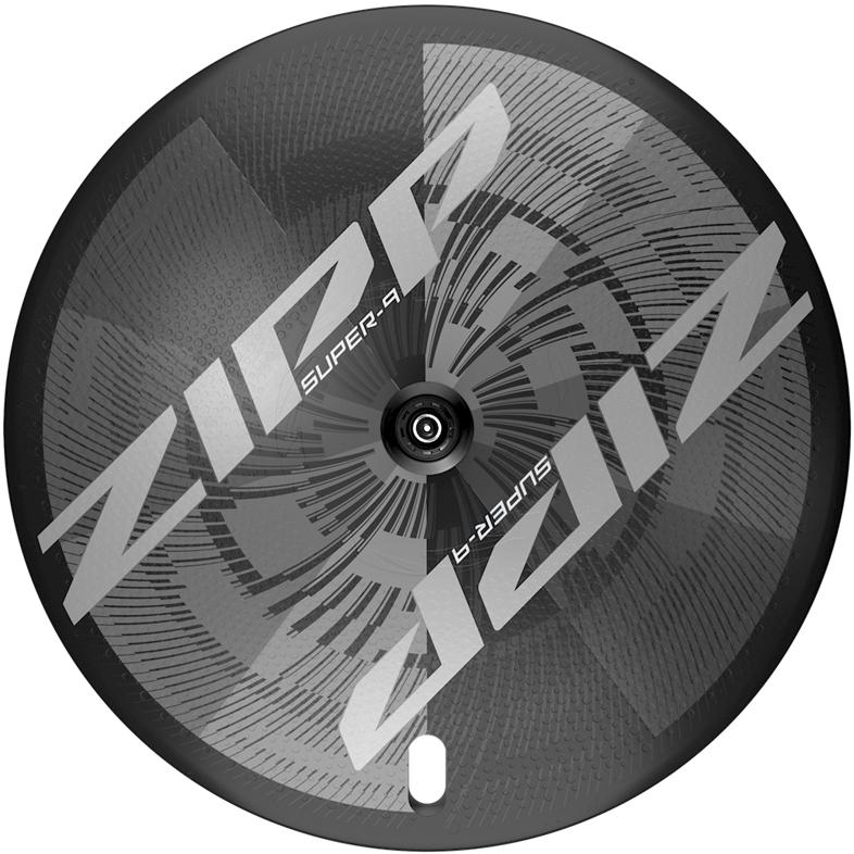 ZIPP Super-9 Carbon Disc Hinterrad - Drahtreifen - Centerlock - 12x142mm - Shimano/SRAM 10/11f - schwarz