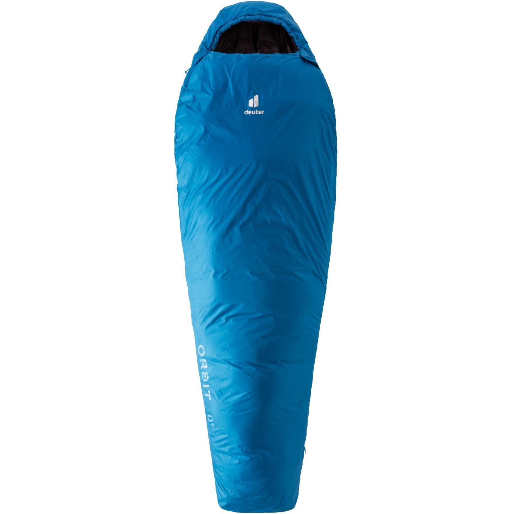Deuter Orbit 0° SL Women's Sleeping Bag - zip right - bay-aubergine