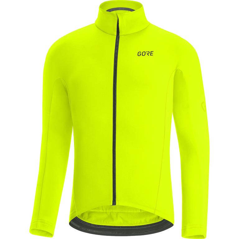 Produktbild von GORE Wear C3 Thermo Trikot 100647 - neon yellow 0800