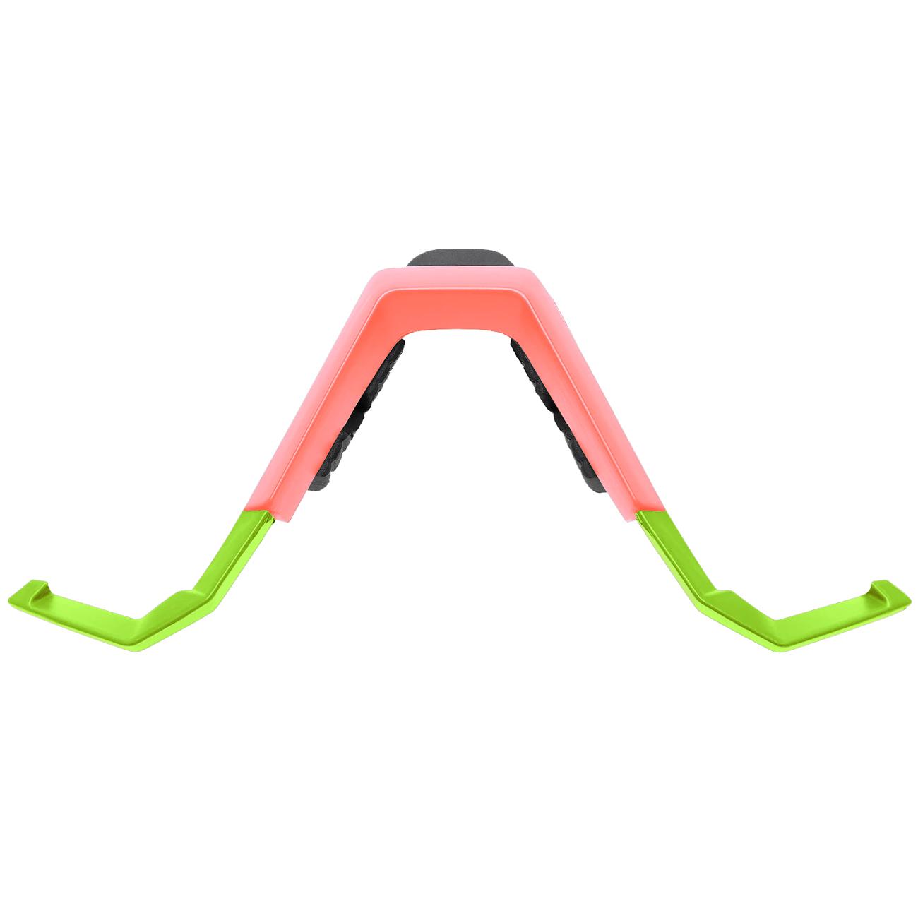 100% Speedcraft/S3 Nose Bridge para Standard/Tall Version - Washed Out Neon Yellow