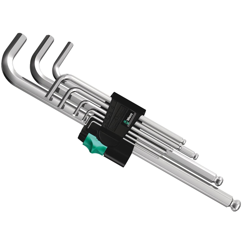 Wera 950/9 Hex-Plus 1 - Winkelschlüsselsatz Innensechskant