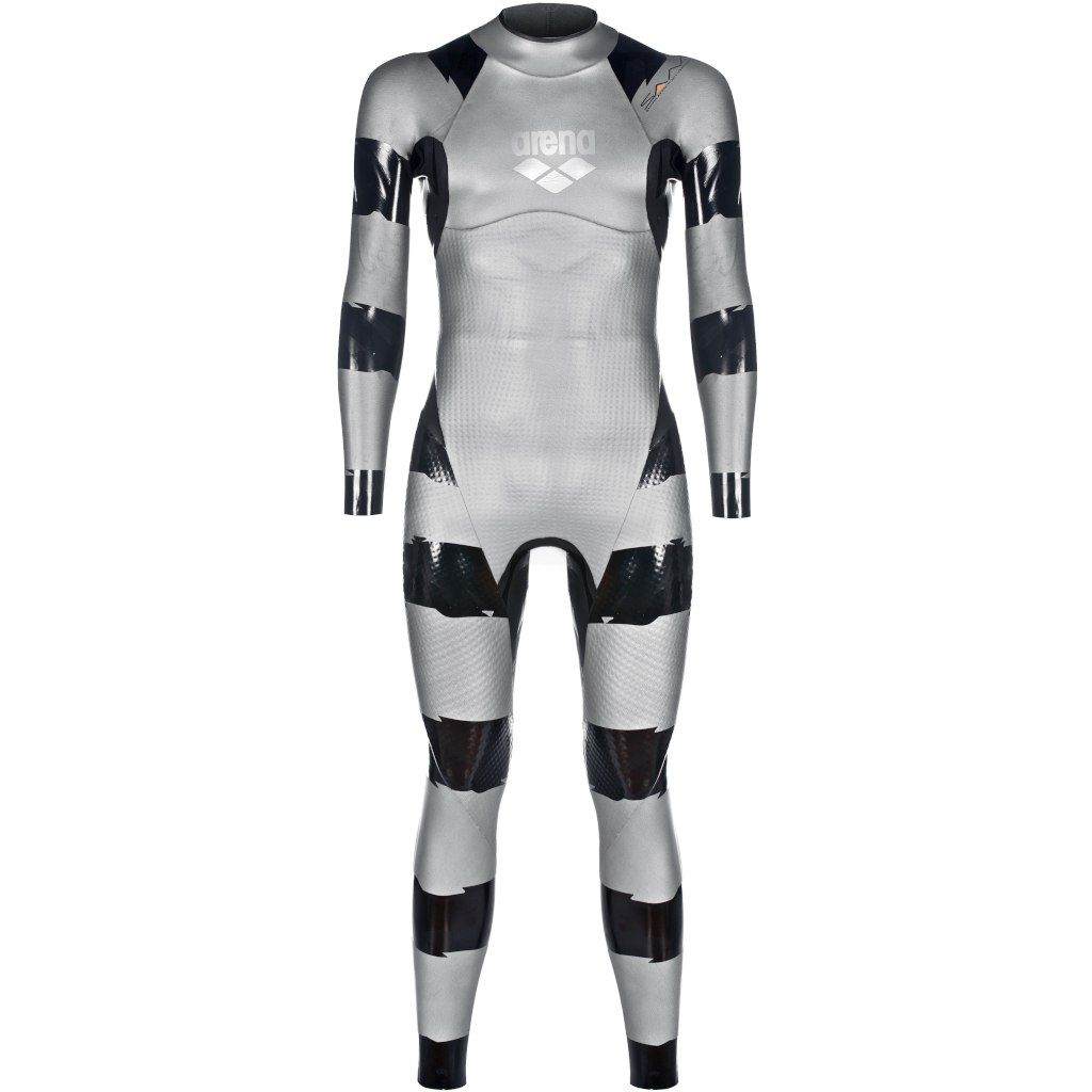 arena SAMS Carbon Wetsuit - silver-black