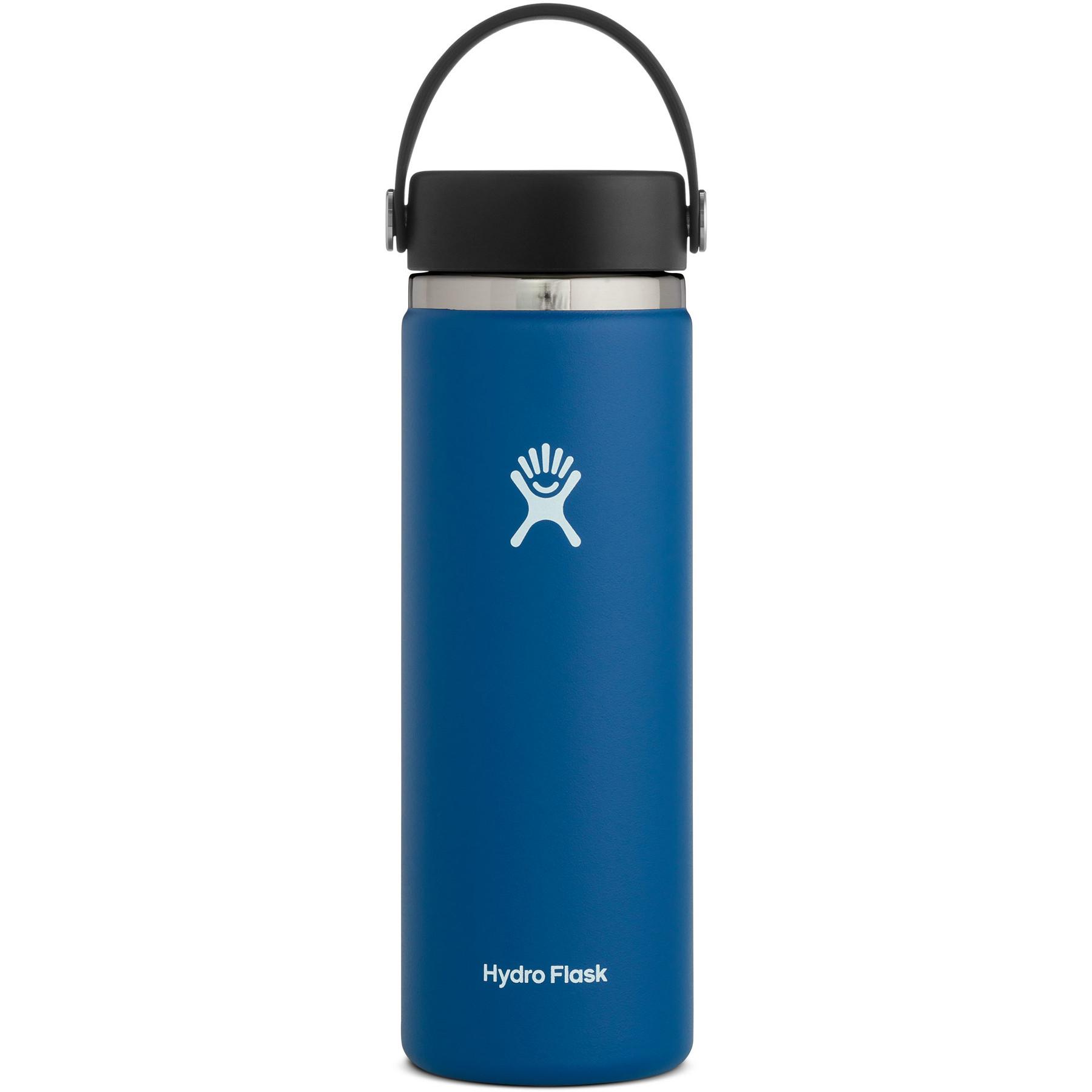 Produktbild von Hydro Flask 20oz Wide Mouth Flex Cap Thermoflasche 591ml - Cobalt