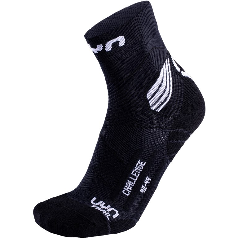 UYN Run Trail Challenge Socken - Black/White